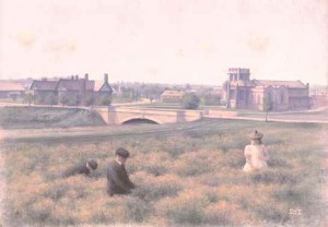 Children in the Meadow, Port Sunlight
