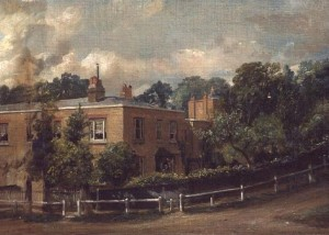 'Lower Terrace, Hampstead' c. 1821 -2.