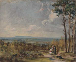 Hampstead Heath, Looking towards Harrow 1821
